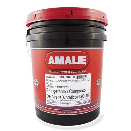 Amalie Refrigerant/Compressor Oil (Synthetic) 46